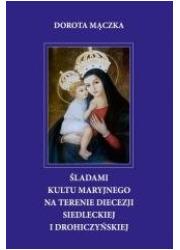 Śladami kultu maryjnego na terenie - okładka książki