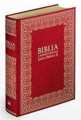 Biblia z komentarzami JP II (wydanie - okładka książki