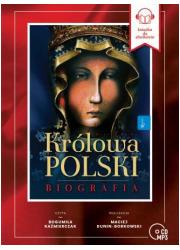 Królowa Polski. Biografia (CD mp3) - pudełko audiobooku