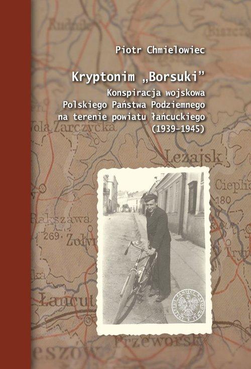 Kryptonim Borsuki. Konspiracja - okładka książki