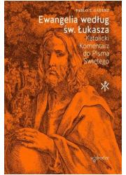 Ewangelia według św. Łukasza. Katolicki - okładka książki
