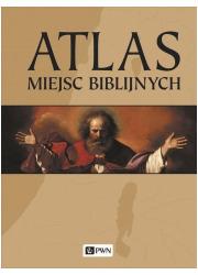 Atlas miejsc biblijnych - okładka książki