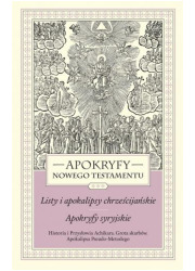 Apokryfy Nowego Testamentu Listy - okładka książki