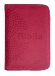 Biblia z kolorową wkładką (różowa - okładka książki