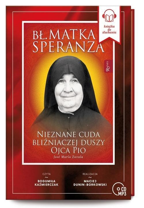 Bł. Matka Speranza. Nieznane cuda - pudełko audiobooku