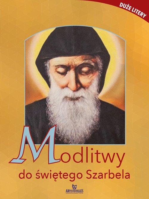 Modlitwy do św. Szarbela - okładka książki