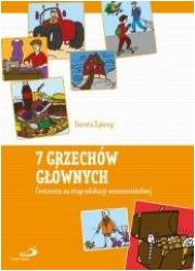7 Grzechów głównych - okładka książki
