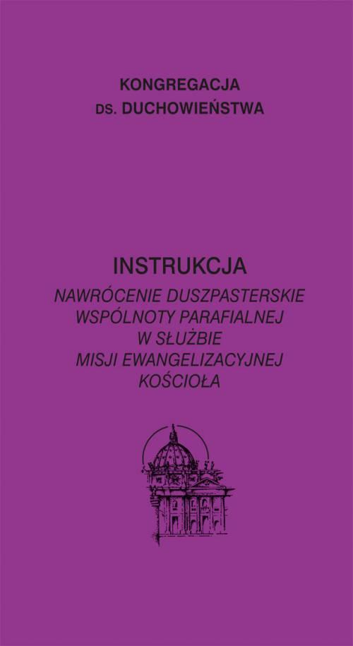 Instrukcja. Nawrócenie duszpasterskie - okładka książki