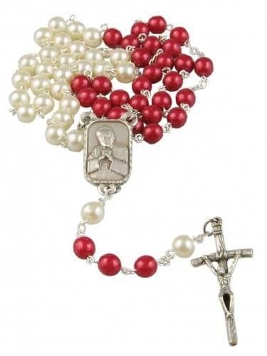 Różaniec z okazji beatyfikacji - zdjęcie dewocjonaliów