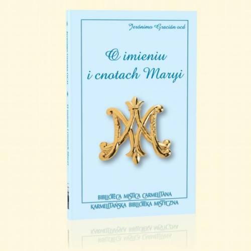 O imieniu i cnotach Maryi - okładka książki