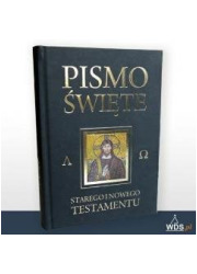 Pismo Święte ST i NT grafit z paginatorami - okładka książki