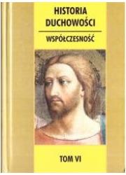 Historia duchowości. Tom 6 - okładka książki