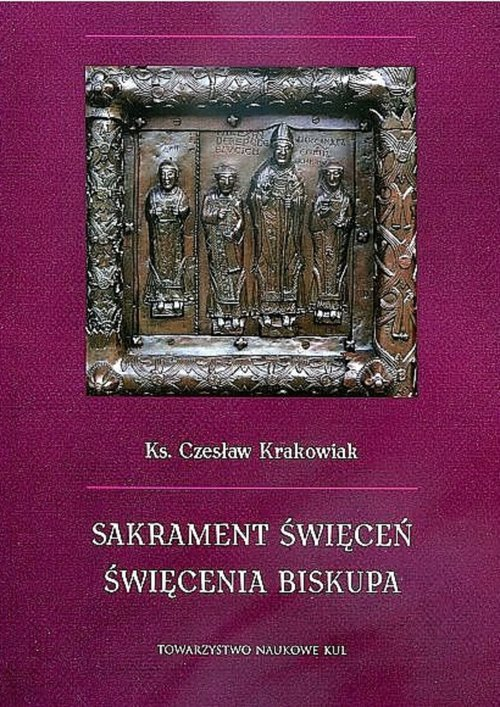 Sakrament święceń. Święcenia biskupa - okładka książki