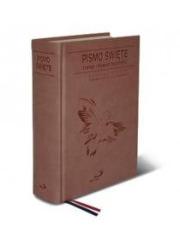Pismo Święte ST i NT kolor brązowy - okładka książki