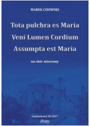 Tota pulchra es Maria... na chór - okładka książki