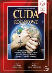 Cuda różańcowe (CD mp3) - pudełko audiobooku
