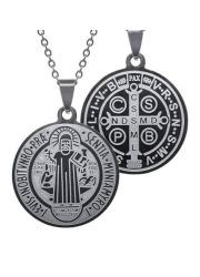 Cudowny medalion św. Benedykta - zdjęcie dewocjonaliów