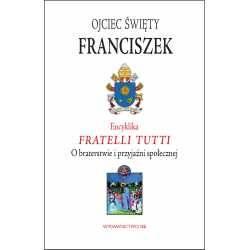 Encyklika Fratelli tutti. O braterstwie - okładka książki