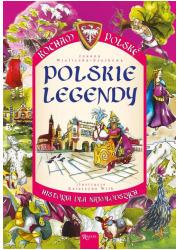 Kocham Polskę. Legendy - okładka książki
