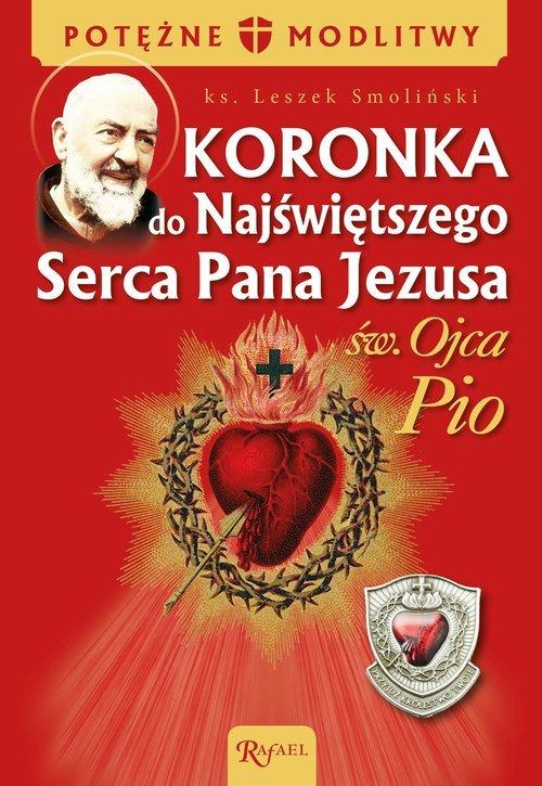 Koronka do NSPJ ojca Pio - okładka książki