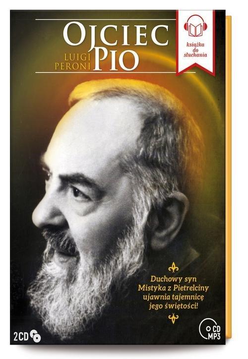 Ojciec Pio (2 Tomy - CD mp3) - pudełko audiobooku