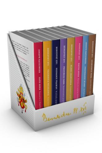 Benedykt XVI - seria książek - okładka książki