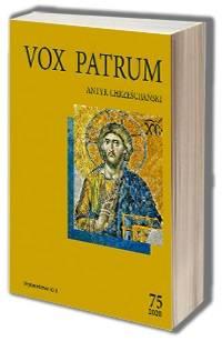 Vox Patrum. Tom 75 - okładka książki