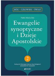 Ewangelie synoptyczne i Dzieje - okładka książki