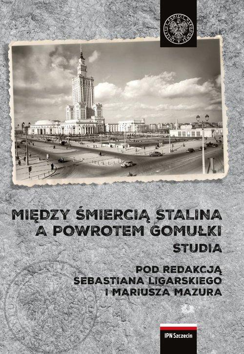 Między śmiercią Stalina a powrotem - okładka książki