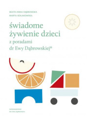 Świadome żywienie dzieci z poradami - okładka książki