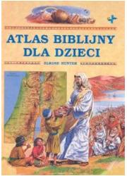 Atlas biblijny dla dzieci - okładka książki