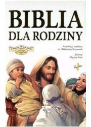 Biblia dla rodziny - okładka książki