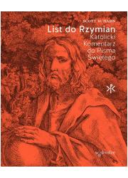 List do Rzymian. Katolicki komentarz - okładka książki
