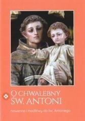 O chwalebny Św. Antoni - okładka książki