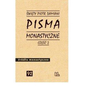 Pisma monastyczne cz. 2. Seria: - okładka książki