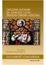 Ćwiczenia duchowe św. Ignacego - okładka książki