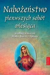 Nabożeństwo pierwszych sobót miesiąca - okładka książki