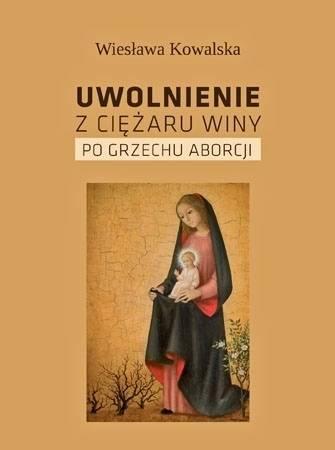Uwolnienie z ciężaru winy po grzechu - okładka książki