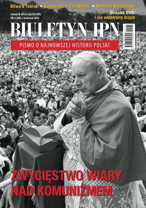 Biuletyn IPN nr 185 (4) / 2021 - okładka książki