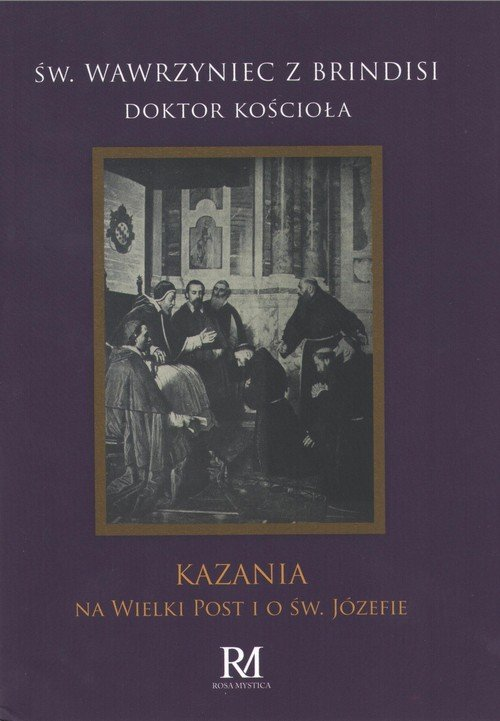 Kazania na Wielki Post i o św. - okładka książki