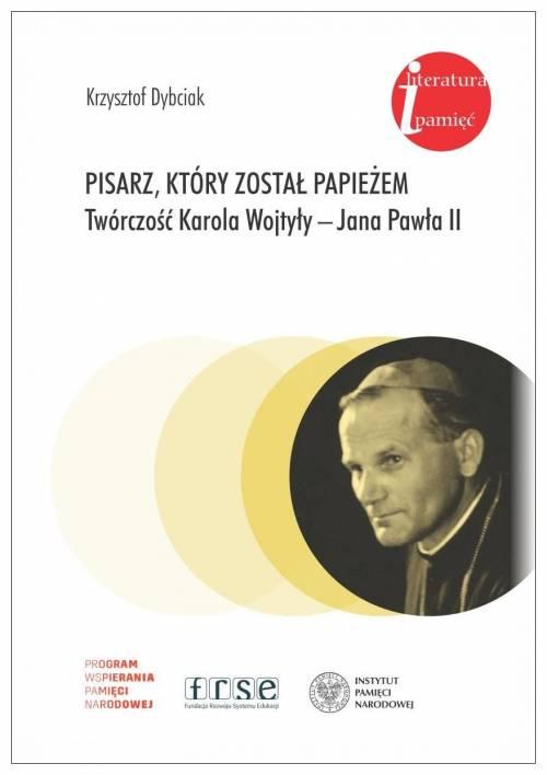 Pisarz, który został papieżem. - okładka książki