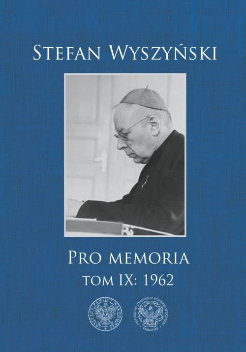 Stefan Wyszyński. Pro memoria. - okładka książki