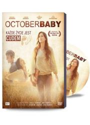 October Baby (+film DVD). Każde - okładka książki