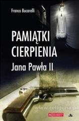 Pamiątki cierpienia Jana Pawła - okładka książki