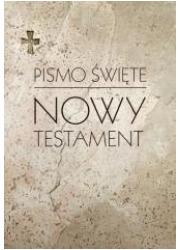 Pismo Święte Nowy Testament - okładka książki