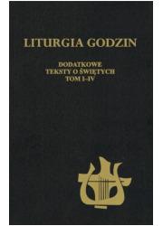 Dodatek do Liturgii Godzin - okładka książki