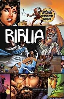 Biblia komiks - okładka książki