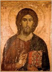 Ikona Chrystus Odkupiciel. Pantokrator - zdjęcie dewocjonaliów