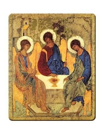 Ikona Trójca Święta - zdjęcie dewocjonaliów