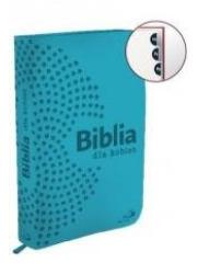 Biblia dla kobiet - turkusowa (z - okładka książki